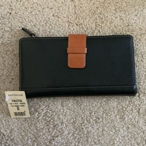 ANN TAYLOR wallet/check holder